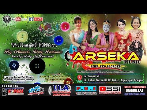 Live Streaming Campursari ARSEKA MUSIC // UNGGUL LAS (ULA) AUDIO // HVS SRAGEN CREW 01 SIANG