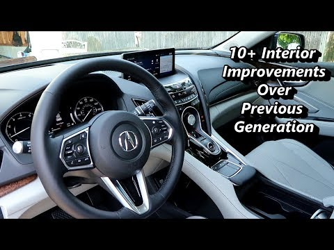 2019 Acura RDX Interior Owners View