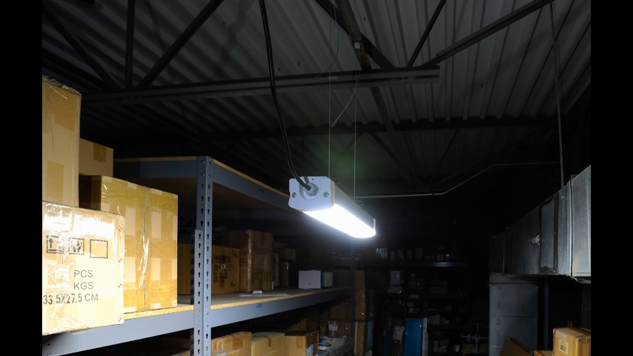 New Led Low Bay Garage Lighting