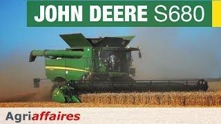 Moissonneuse Batteuse John Deere S680