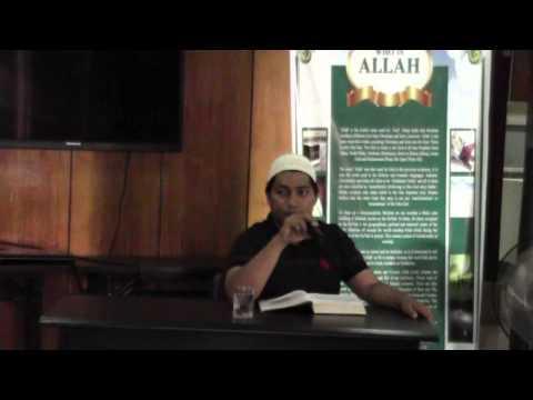 Riyadh us-Saliheen lesson 1 by Ustadh Mahmoud (Visaya)