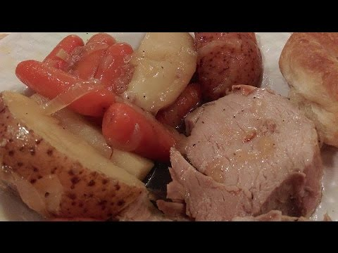 How To Cook A Pork Roast  - The Hillbilly Kitchen