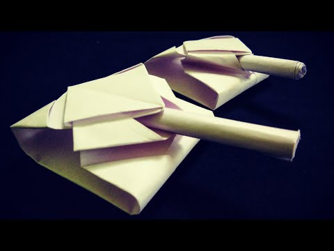 HOW TO MAKE PAPER TANK | pocket tanks | Easy steps to follow