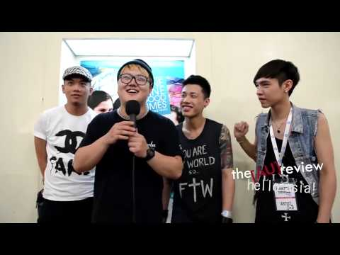 TRASH (Taiwan) Interview at Bravo! Taiwan in Music Matters Live 2013