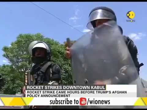 Afghanistan: Rocket strikes downtown Kabul