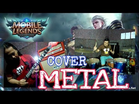 MOBILE LEGEND SOUNDTRACK - METAL COVER - HELMY NEWTRON FT.JOHN GUITAR