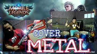 MOBILE LEGEND SOUNDTRACK - METAL COVER - HELMY NEWTRON FT.JOHN GUITAR