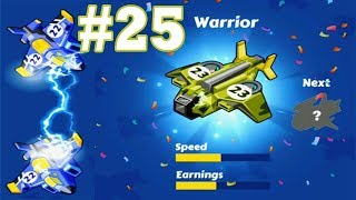 Merge Plane-Click & Idle Tycoon #lv25 #Warrior_No_hack iOS & Android Games, GamePlay_HD