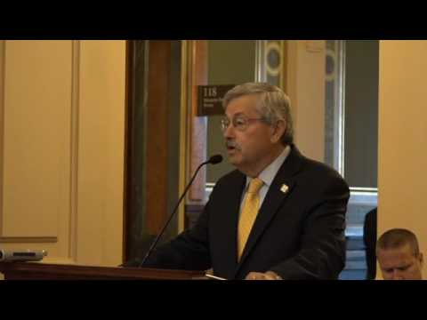 Gov Branstad at AWEA press conf: Iowa now over 35% wind-powered