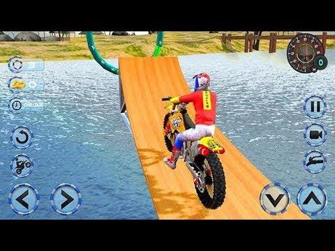 Juego De Motos Para Niños Motos De Agua Youtube