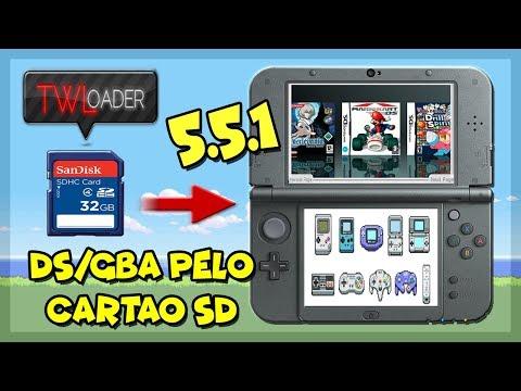 3DS] TWLoader v5 5 1 - Rodar Jogos de NDS(i) e GBA pelo