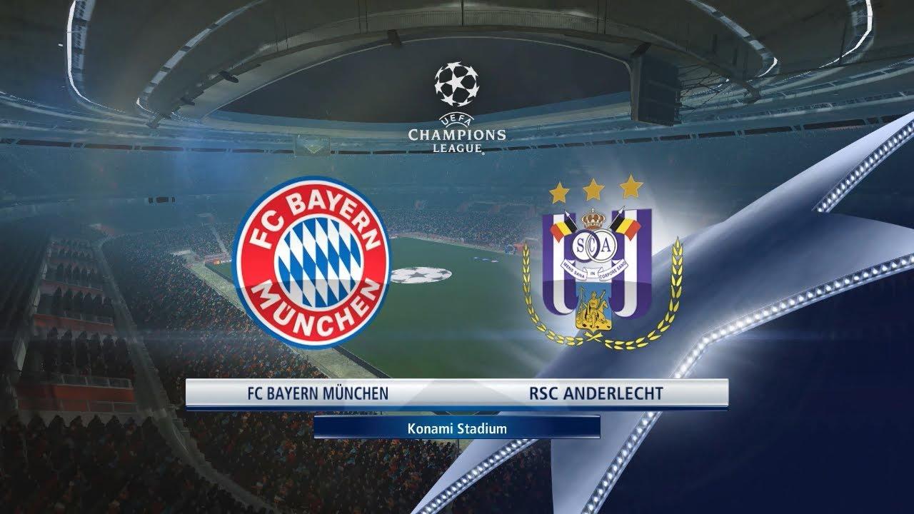Андерлехт — Бавария 22.11.17 смотреть онлайн