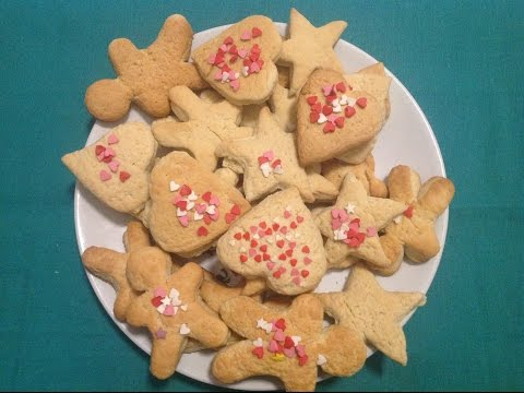 Вкусное печенье Простой и быстрый рецепт Фигурное(Эмилия)/Simple And Quick Recipe.