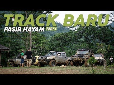 OFFROAD - Track Baru di Pasir Hayam Part 1#CARVLOG INDONESIA