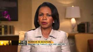 Rice on bombing: Gravest worry is to prevent the next attack