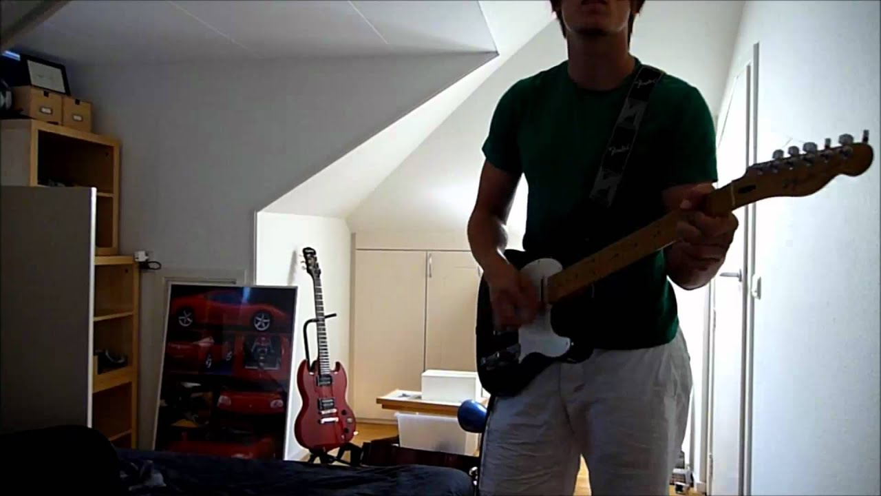Third Eye Blind Semi Charmed Life Hq Guitar Cover Youtube