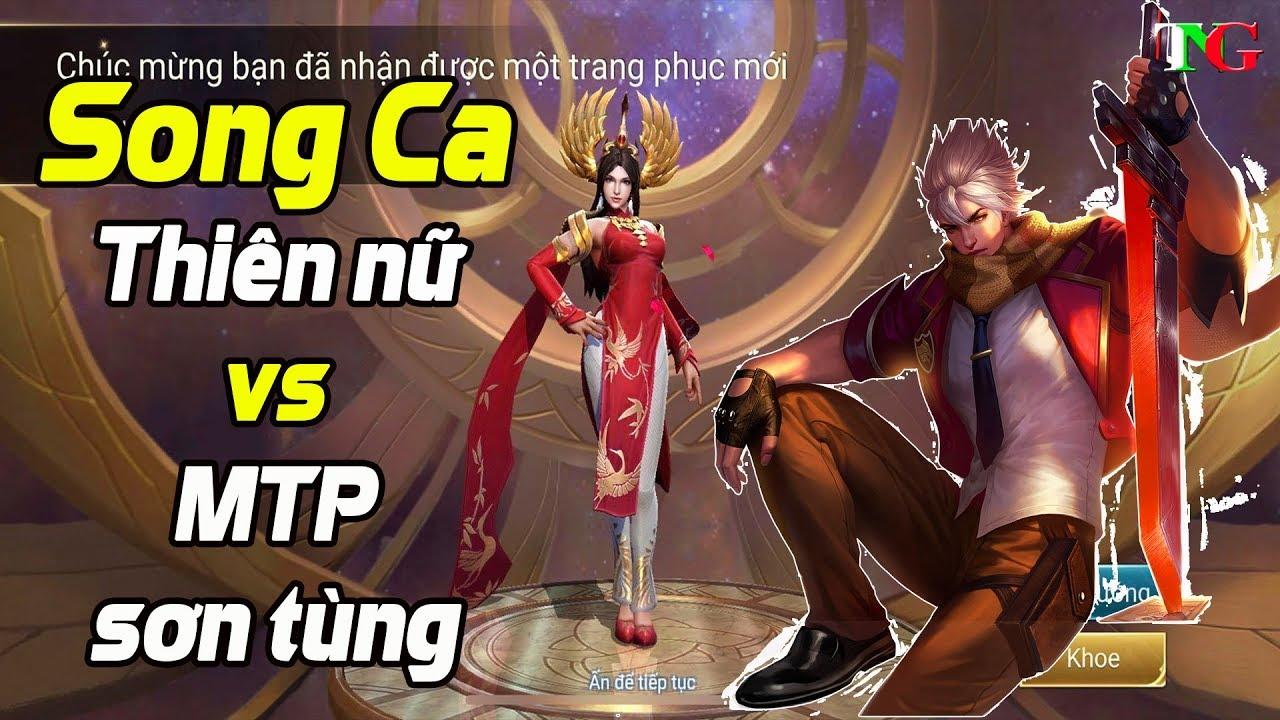 Liên quân mobile HOT Song ca Thiên nữ áo dài và MTP thần tượng học đường 2 SKIN lồng tiếng việt