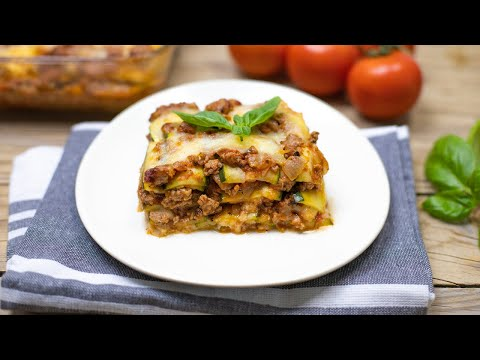 The Best Zucchini Lasagna Recipe (Not Watery) Keto & Low Carb
