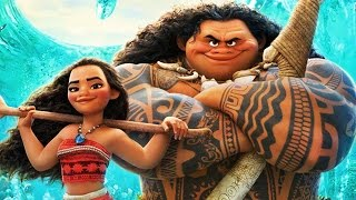 Moana 2016 Disney Animation movie Cartoon Trailer baby soundtrack for kids