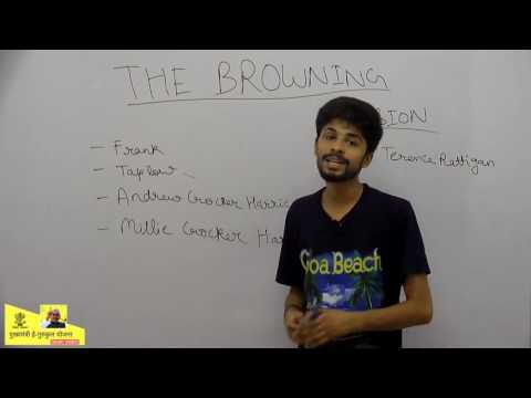 #1 - Summary - The Browning Version - Rishabh Jain