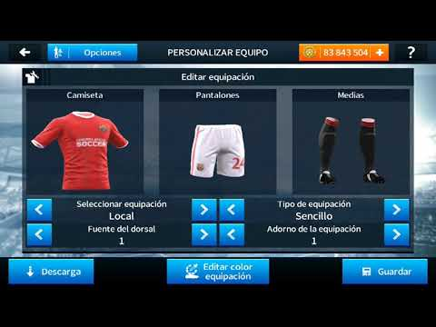 camiseta del barcelona 2017 para dream league soccer