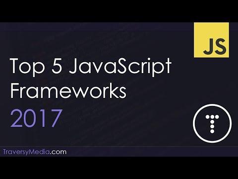 Top 5 JavaScript Frameworks 2017