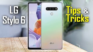 LG Stylo 6 Tips and Tricks