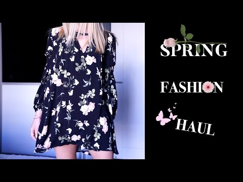 Spring Fashion Haul & Styling Tips | Gina
