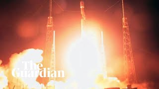 Israel's first lunar probe blasts off from Cape Canaveral