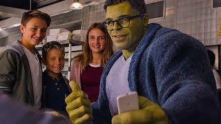 Мстители встречают Профессора Халка. Мстители: Финал. 2019