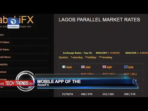 Tech Trends: Mobile App Of The Week 'AbokiFX'