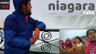 Visiting the Canadian side of Niagara Falls in Winter
