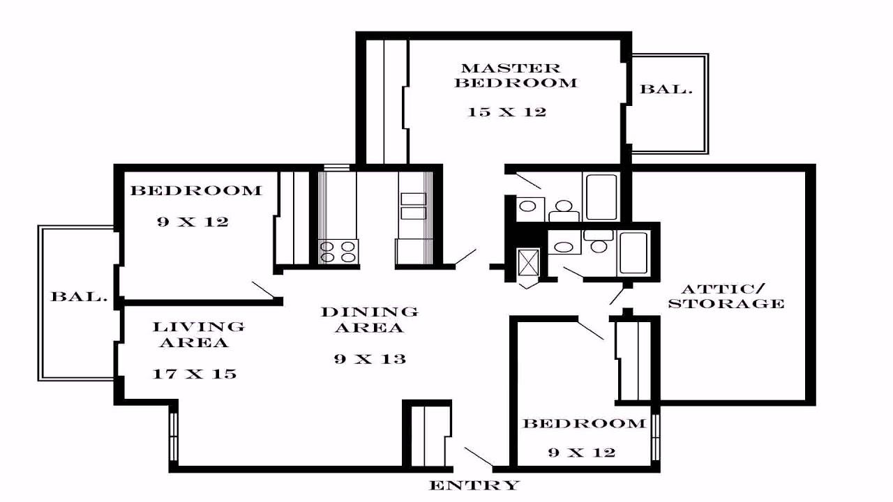 Simple 3 Bedroom House Floor Plans Single Story (see ...