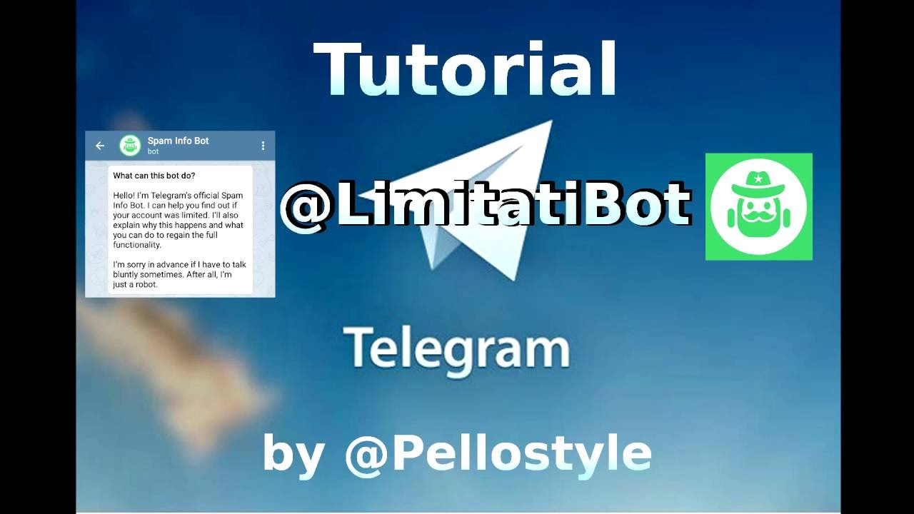 [Telegram Tutorials] Are you reported? Have a Limitatibot to work round the  ban!