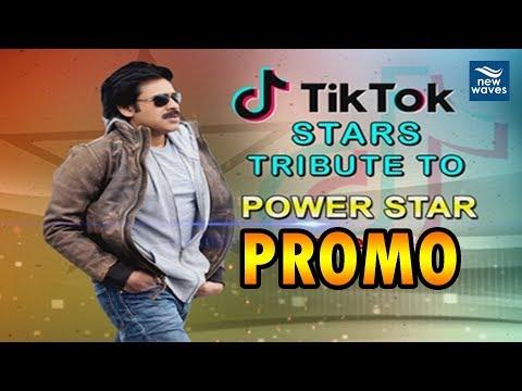 Pawan Kalyan Birthday Special | TiKTok Stars Tribute to PowerStar | PROMO | New Waves