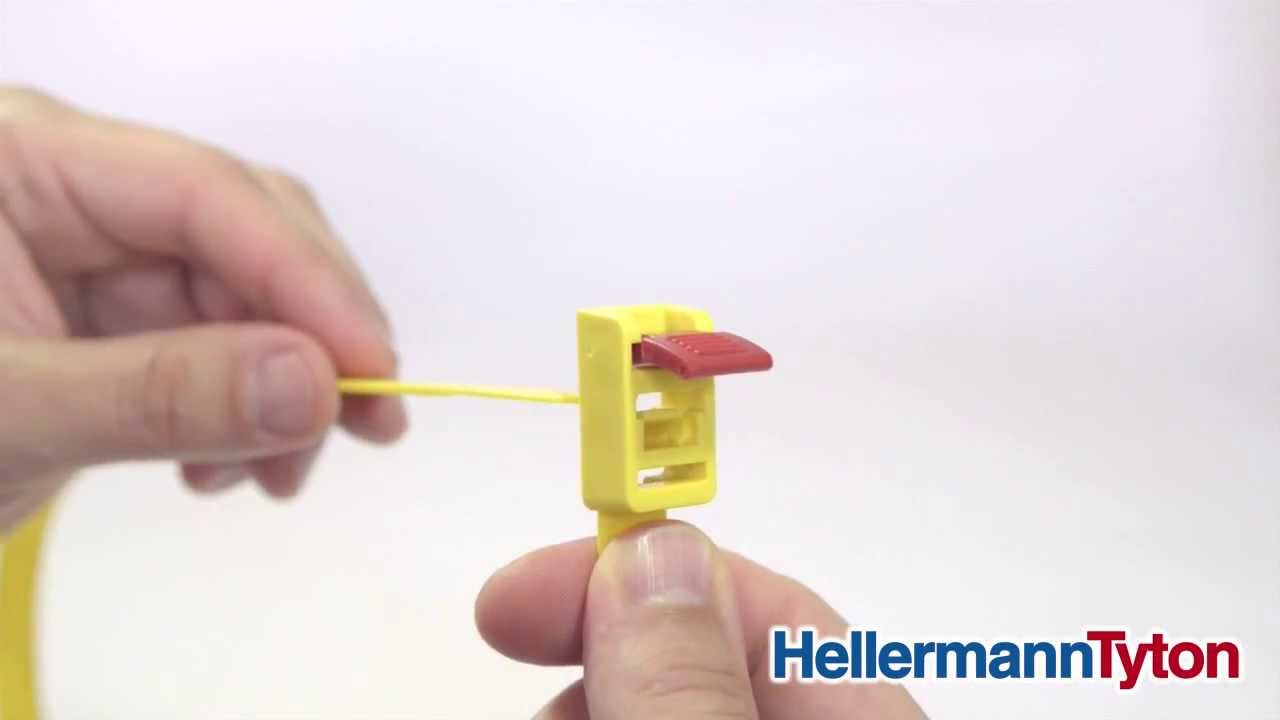 Speedytie Releasable And Reusable Cable Tie With Quick