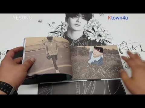 [Ktown4u Unboxing]: SUPER JUNIOR : YESUNG - Mini Album Vol.2 [Spring Falling] (Normal Edition)