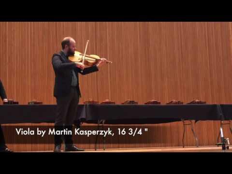 Modern Viola Demonstration