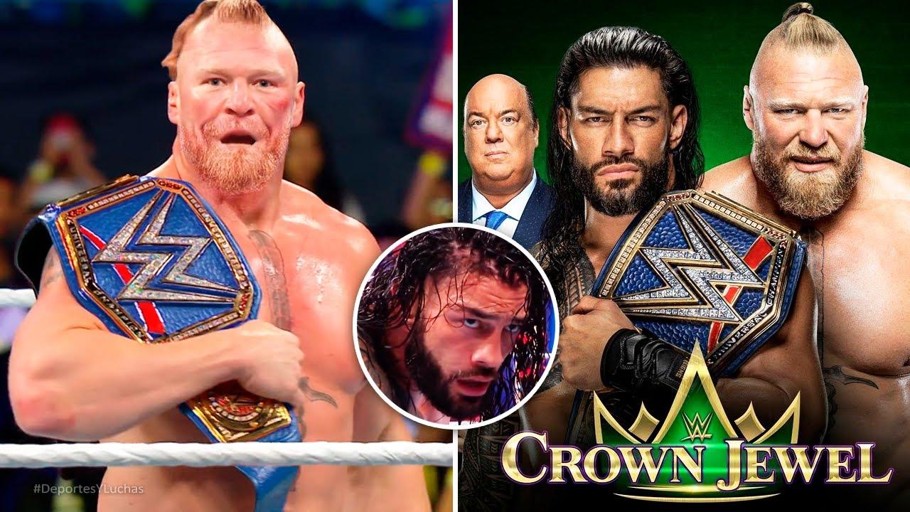 Download PORQUE BROCK LESNAR vs ROMAN REIGNS SERÁ en WWE CROWN JEWEL 2021 POR EL CAMPEONATO UNIVERSAL
