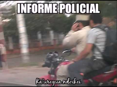 Informe policial paraguayo