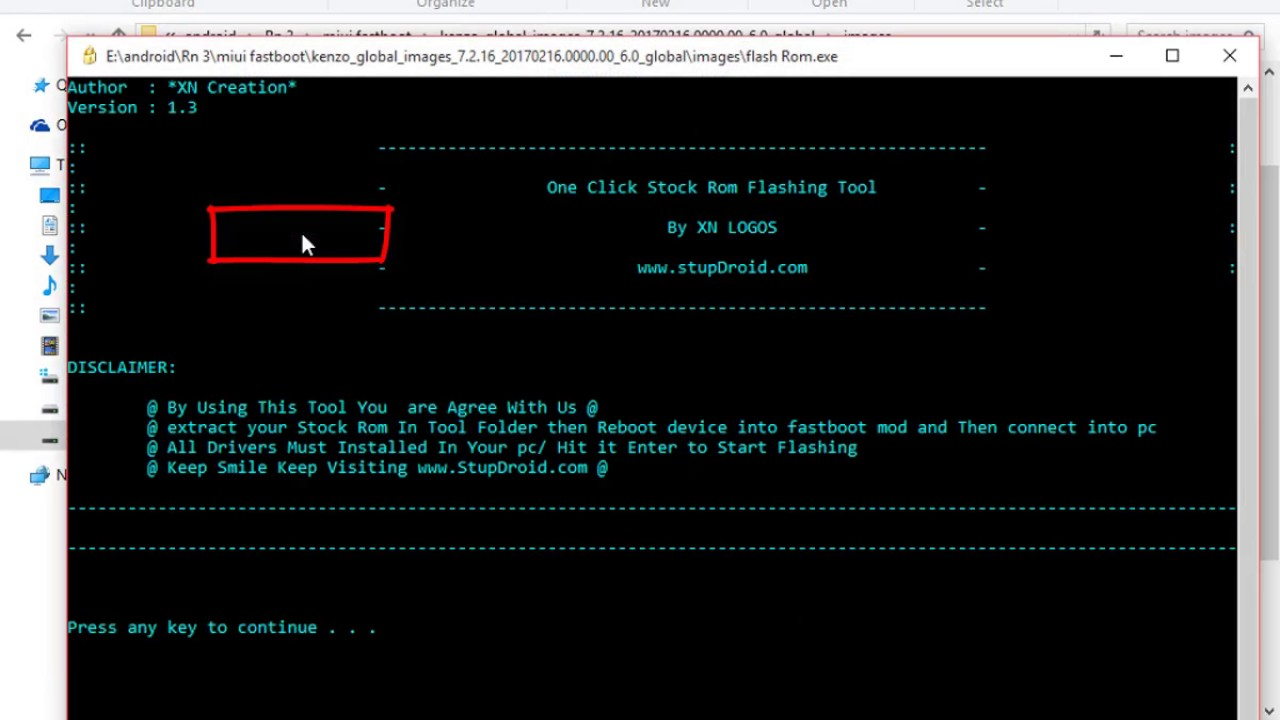 How to Install Stock Rom using Fastboot mod