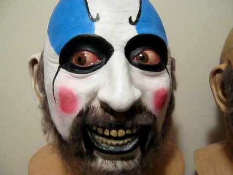 Captain Spaulding mask Creeping Death Productions Rob Zombie