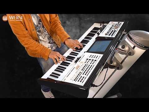 WERSI Pegasus Wing Professional Keyboard Demo