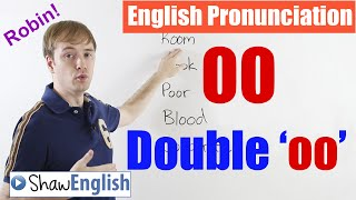 Prononciation de l'anglais: 'OO' / Double O