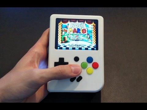 Super Pi Boy - Raspberry Pi 3 Gameboy!