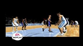 [PS2] NCAA March Madness 2002 - Duke vs UNC Gameplay