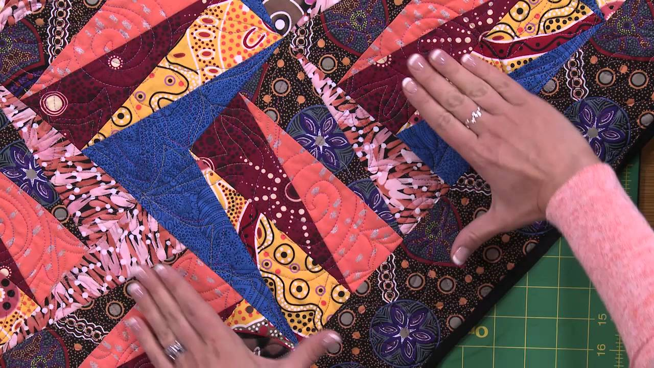 My First Quilt Free Quilting Video Tutorials Youtube