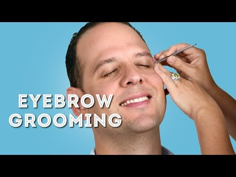 Eyebrow Grooming Guide For Men - How To Groom Eyebrows