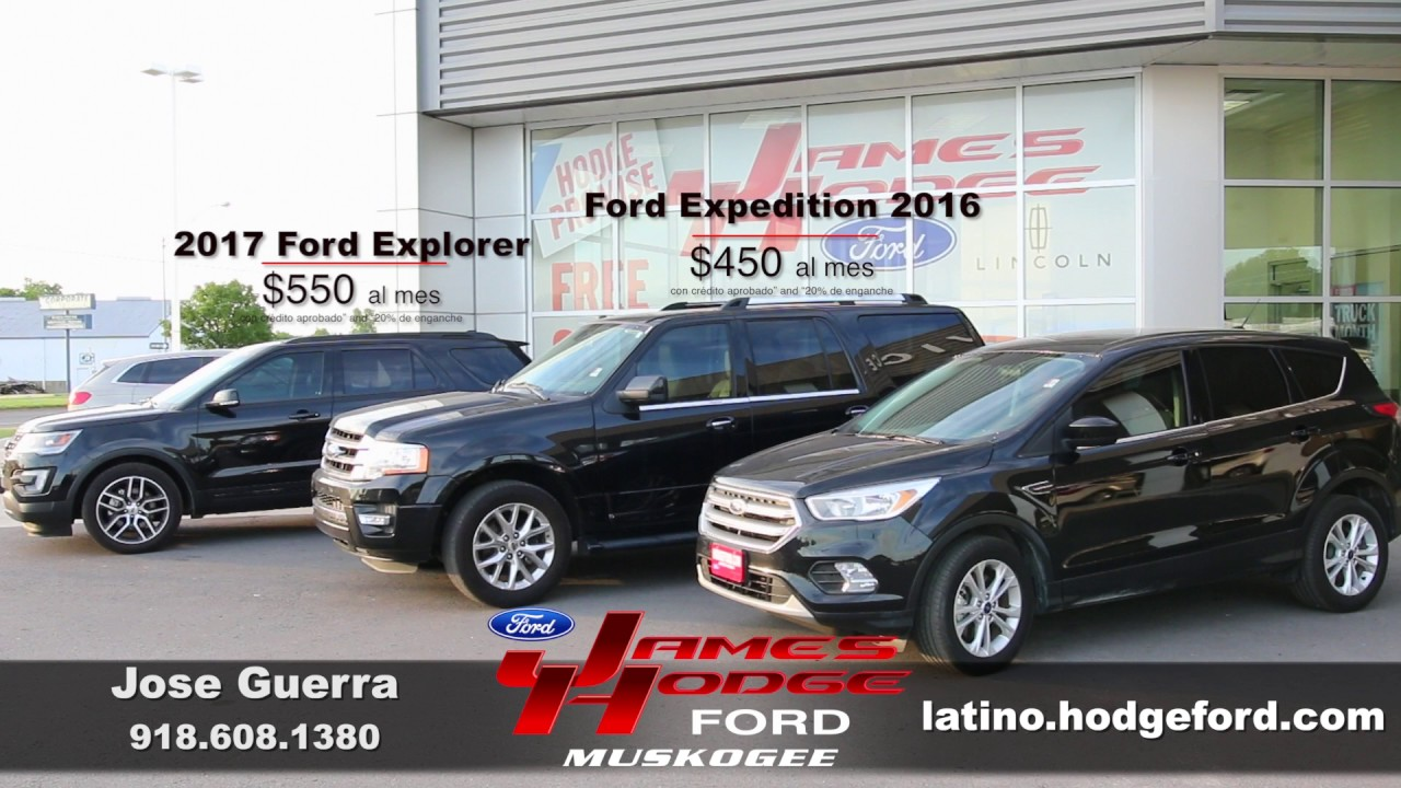 James Hodge Ford Muskogee >> James Hodge Ford Lincoln Specials - Tulsa Area and Muskogee New and Used SUV Dealer - YouTube