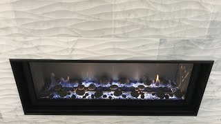 In this video, MHI installs a custom linear fire place from start to finish. The homeowner chose a 4 foot linear fireplace and